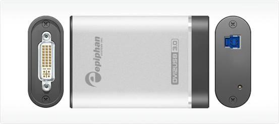 采集GVI/VGA信号的口袋精灵——DVI2USB?3.0