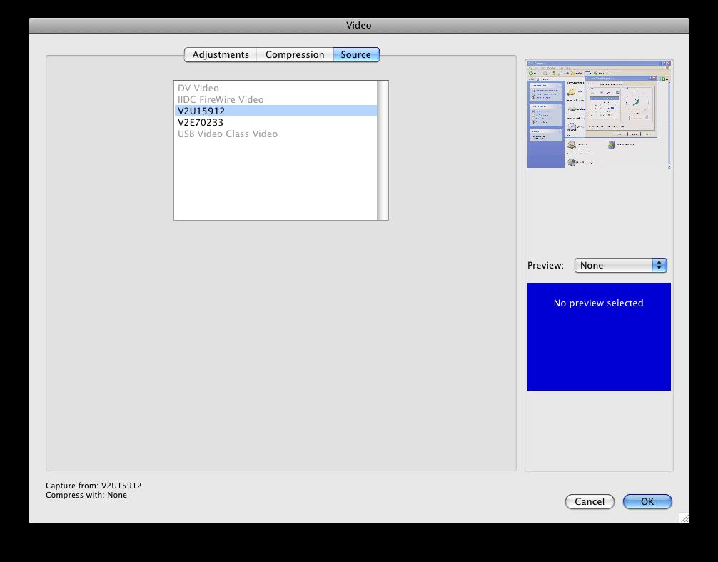 如何使用HackTVCarbon记示VGA或DVI信号