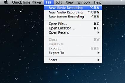 如何使用DVI2USB 3.0采集盒和QuickTime录制视频