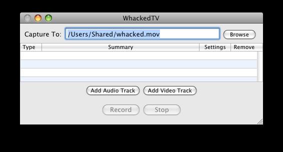 如何使用WhackedTV记录VGA或DVI信号