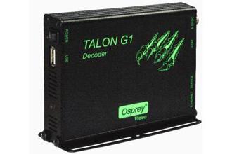 Talon G1 H.264解码器