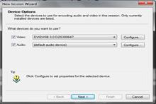 如何使用Windows Media Encoder记录VGA或DVI信号