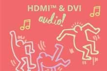 如何在DVI上实现HDMI内嵌音频