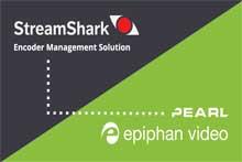 StreamShark和Epiphan Pearl集成合作