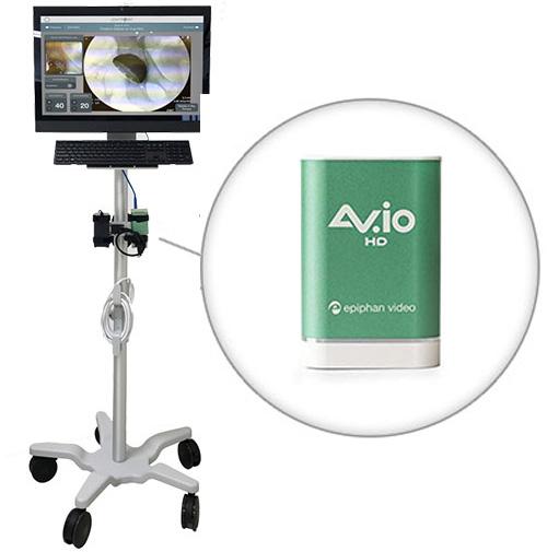 AV.io HD在现场中使用的效果
